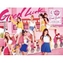 AOA 4th Mini Album [Good Luck] WEEKEND Ver. CD + 64p Booklet + Photocard Sealed